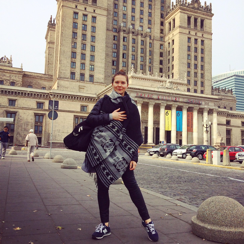 Czwartkowa wyprawa do Warszawy po nowy cel!