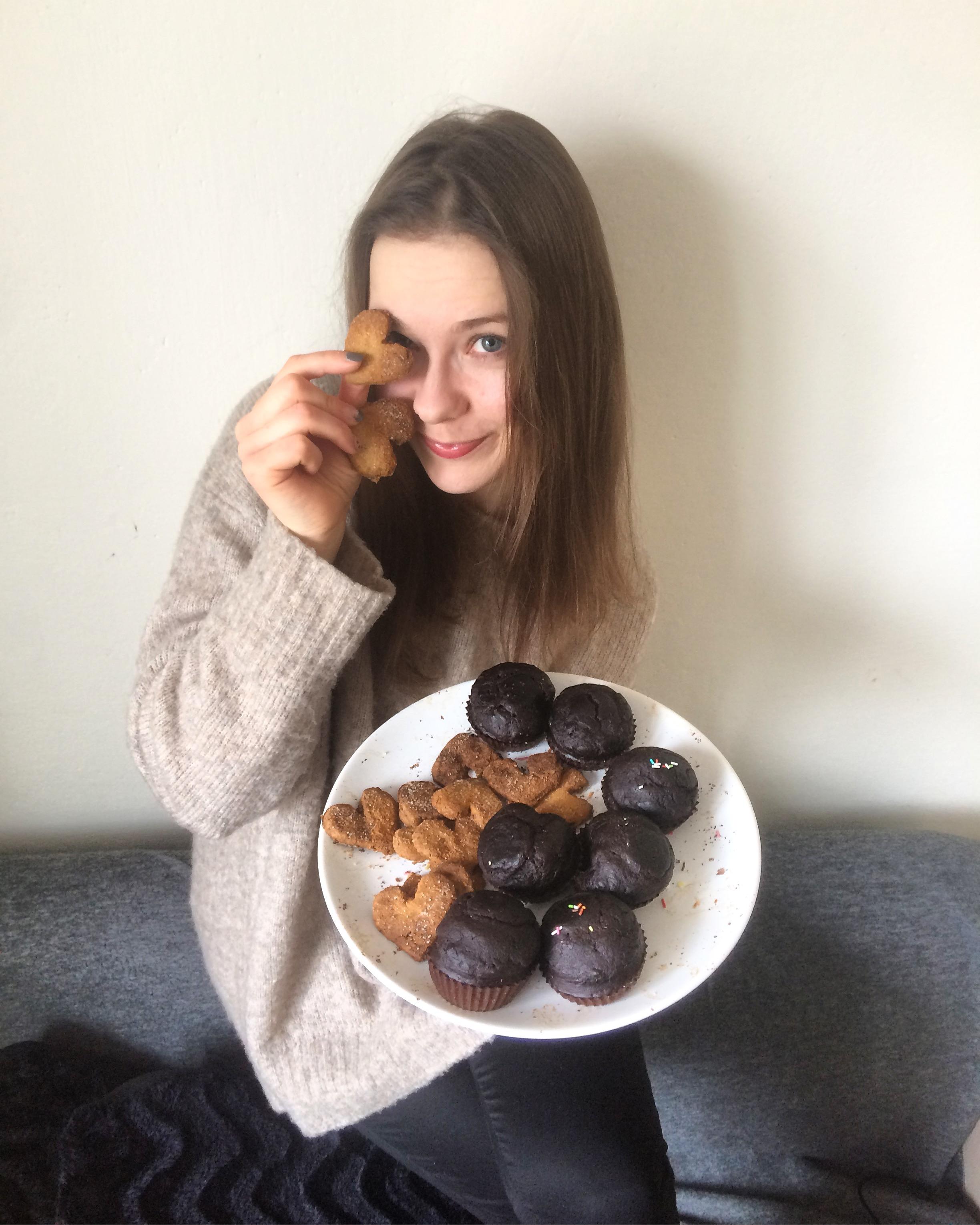 Ciastka maślane serduszka